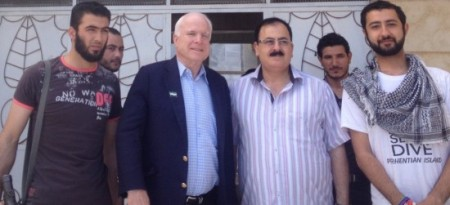 McCain and Syrian rebels
